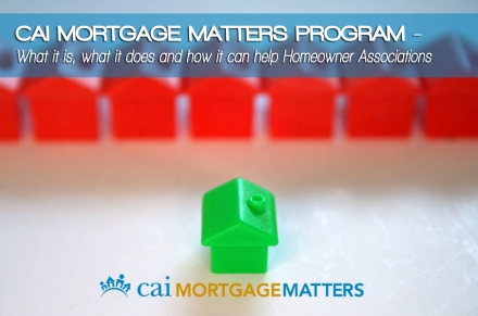 CAI mortgage matters update