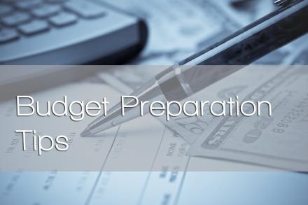 Budget Preparation Tips
